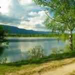 Lac de Divonne, dans le Jura