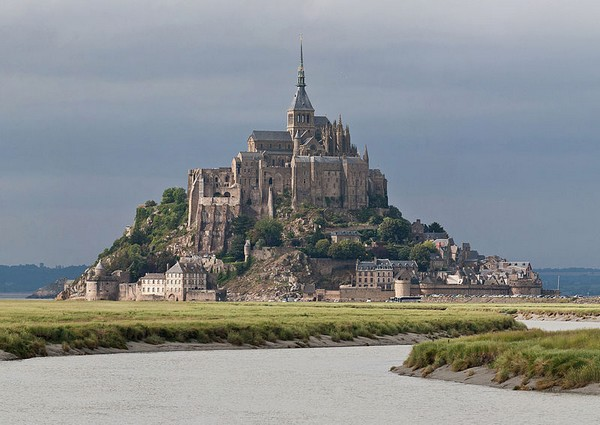 Photo du Mont Saint Michel, en Normandie