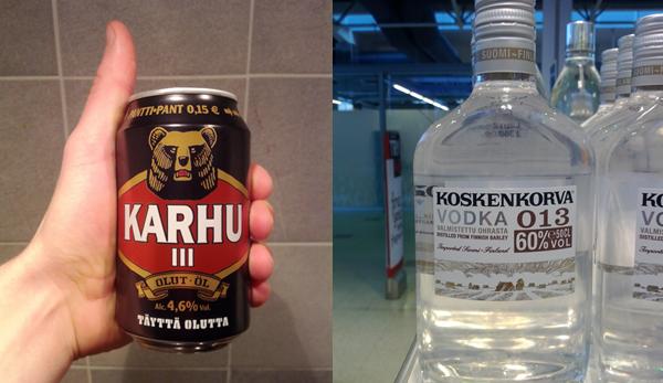 Heslinki Alcools et bière