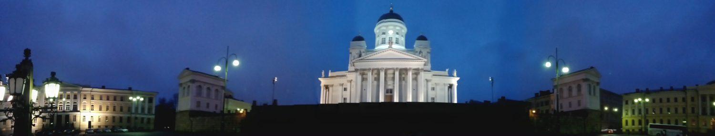 Panoramique cathédrale Helsinki