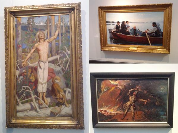 tableaux musée d'Atheneum à Helsinki