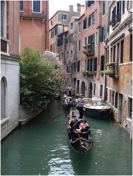 Gondoliers à Venise