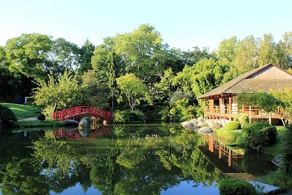 Jardin japonais de Toulouse (Pavillon du thé)