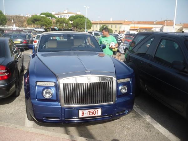 Une rolls Royce à Saint Tropez