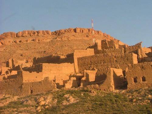 village-maroc-ocre
